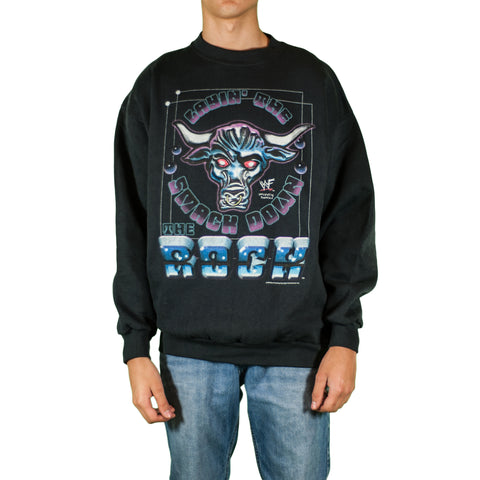The Rock WWF Vintage Sweatshirt
