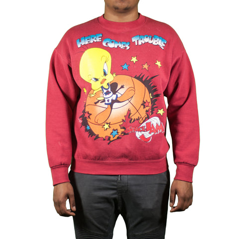 Vintage Tweety Space Jam Sweatshirt
