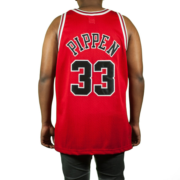 Chicago Bulls Scottie Pippen Vintage Authentic Champion Jersey