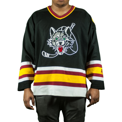 Chicago Wolves Vintage Starter Hockey Jersey