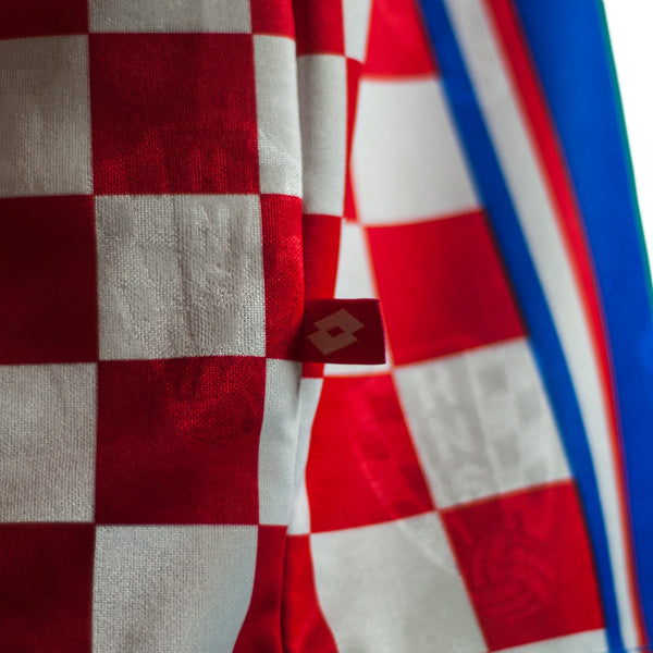 Croatia National Vintage Soccer Jersey