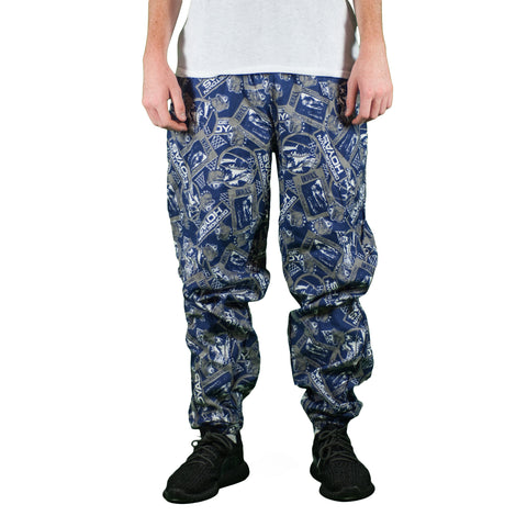 Georgetown Hoyas Vintage All Print Pants