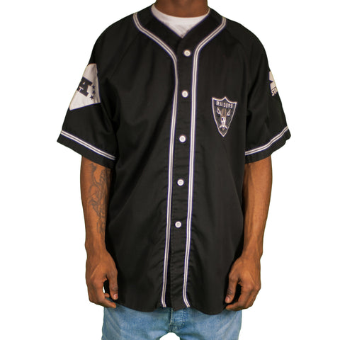 Los Angeles Raiders Vintage Baseball Jersey