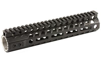 "2A Armament Aethon, Handguard, Hardcoat Black Anodized, 6AL-4V Titanium Barrel Nut, 6061 Extrusion, AR Rifles, 10"" 2A-AERML-10"