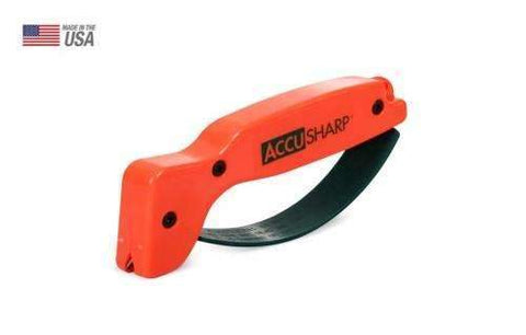 AccuSharp Model 014, Blade Sharpener, Orange, Plastic