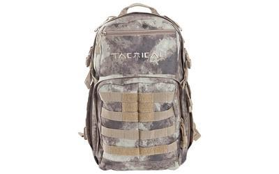 Allen Elite Tactical Backpack, ATACS AU Endura Fabric, Large External Accessory Pocket, MOLLE Web System, Compression Straps, Cool Mesh back, Padded Shoulder Straps, Internal Organizer Compartments, Hydration Compatible, 1700 Cubic Inches 10860
