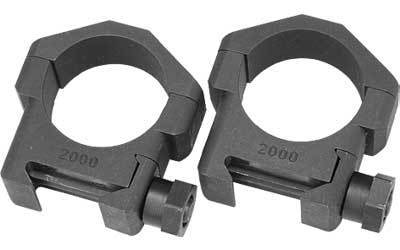 Badger 30MM Ring, Fits Picatinny, Medium Height, Black 30620