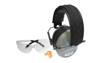 Birchwood Casey 1-Vektor Shooting Glasses, 1- Krest 24 Muffs and Plugs, 1 Set 43425