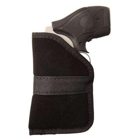 BlackHawk Inside-the-Pocket Holster, Fits Small Sidearm with 2 inch Barrel, .380 Small Automatic Sidearm, Ambidextrous, Black