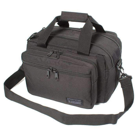 BlackHawk Sportster Deluxe Range Bag, 15x11x10 inches, Black