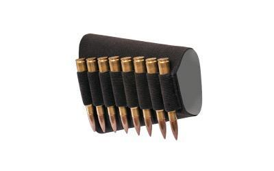 Bulldog Cases Butt Stock Shell Holder, Fits Rifle Shells, Black WBSR