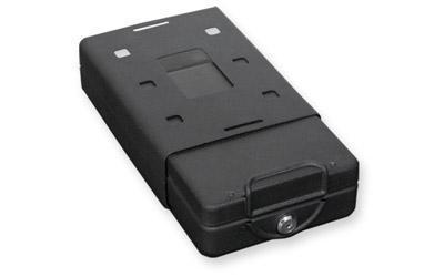 "Bulldog Cases Car Safe, 11.3""x6.9""x2.5"", Keyed Lock, Black BD1150"