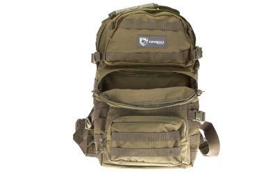 "Drago Gear Assault Backpack, 20""x15""x13"", OD Green 14-302GR"