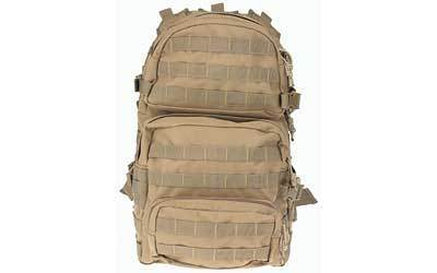 "Drago Gear Assault Backpack, 20""x15""x13"", Tan 14-302TN"