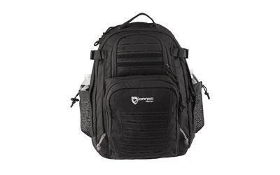 Drago Gear Defender Backpack, 600D Polyester, Black 14-310BL