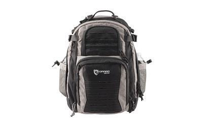 Drago Gear Defender Backpack, 600D Polyester, Shadow two tone Black and Steel 14-310SH