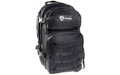 "Drago Gear Scout Backpack, 16""x10""x10"", Black 14-305BL"