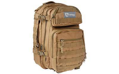 "Drago Gear Scout Backpack, 16""x10""x10"", Tan 14-305TN"