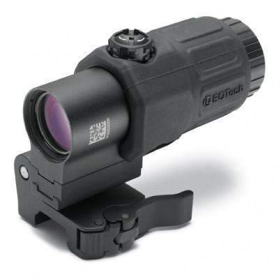 EOTech G33 Magnifier 3X with Switch to Side Mount (STS), Black
