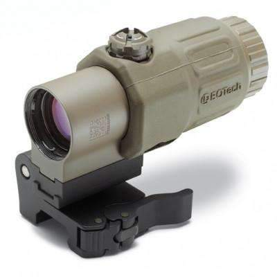 EOTech G33 Magnifier 3X with Switch to Side Mount (STS), Tan