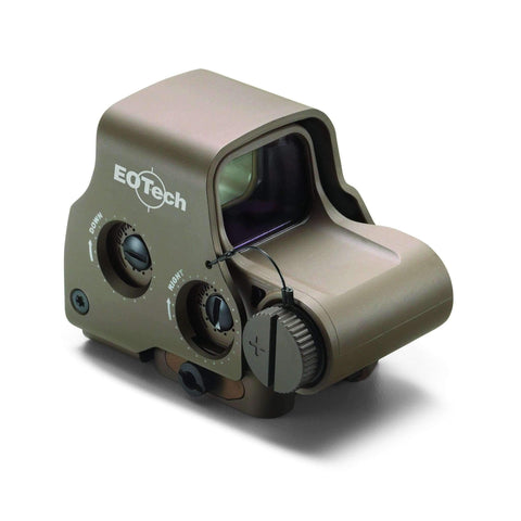 EOTech Tactical Holographic Sight, 68MOA Ring with (2) 1MOA Dots, Side Buttons, Night Vision Compatible, Tan