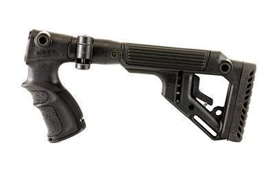FAB Defense Stock, Fits Remington 870, Folding, Adjustable Cheek Piece, Black UAS870