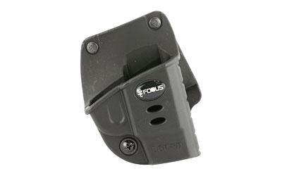 Fobus E2 Belt Holster, Fits Ruger LCP Kel-Tec P-3AT 2nd Gen, Right Hand, Kydex, Black KT2GBH
