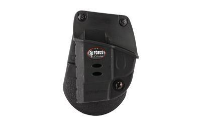 Fobus E2 Paddle Holster, Fits Ruger LCP Kel-Tec P-3AT 2nd Gen, Left Hand, Kydex, Black KT2GLH