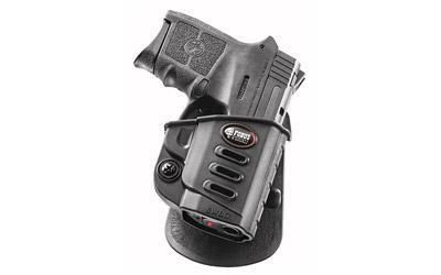 Fobus E2 Paddle Holster, Fits S&W Bodyguard 380ACP, Right Hand, Black SWBG