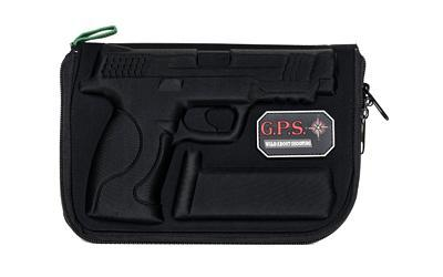 G-Outdoors, Inc. Pistol Case, Black, Soft GPS-912PC