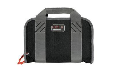 G-Outdoors, Inc. Pistol Case, Black, Soft, Up To 2 Pistols GPS-1308PC