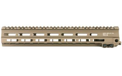 "Geissele Automatics MK8, Super Modular Rail, 13"", MLOK, includes Stainless Steel Gas Block, Desert Dirt Color 05-285S"