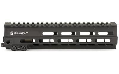 "Geissele Automatics MK8, Super Modular Rail, 9.5"", MLOK, Includes Stainless Steel Gas Block, Black Finish 05-284B"