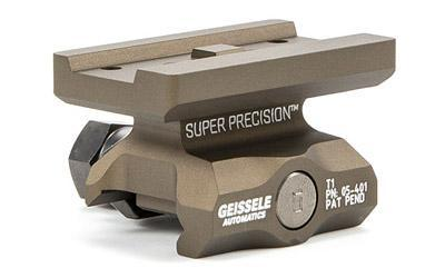 Geissele Automatics Super Precision, Mount, Fits Aimpoint T1, Absolute Co-Witness, Desert Dirt Color 05-401S