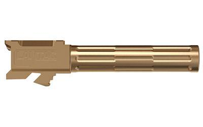 LanTac USA LLC 9INE, Barrel, 9MM, Bronze, 1:10, Fluted, Fits Glock 19 01-GB-G19-NTH-BRNZ