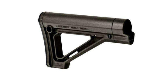 Magpul Industries MOE Fixed Carbine Stock, Fits AR Rifles, Military Spec, Black