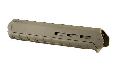 Magpul Industries MOE M-LOK Handguard, For AR Rifles, Rifle Length, Olive Drab Green