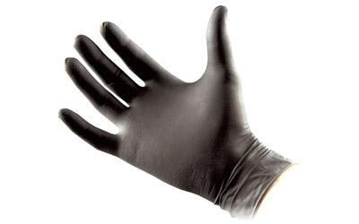 North American Rescue Talon Gloves, Large, 50 Pairs, Black