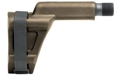 SB Tactical VECTOR PSB FDE, Pistol Stabilizing Brace, Black, Fits Kriss Vector, Requires Adapter KRKVA-SABL00 VECT-02-SB