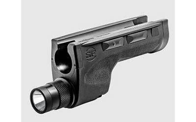 Surefire 6 Volt Shotgun Forend Weaponlight, Fits Mossberg 500 590, 600 200 Lumen, Ambidextrious, Momentary/constant On and Disable Rock, Black
