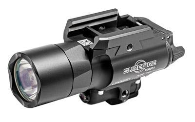 Surefire X400 Ultra Weaponlight and Green Laser, Fits Picatinny, LED 500 Lumens, Black