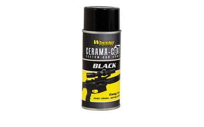 Wheeler Cerama-Coat Firearm Finish Restoration, 4oz, Aerosol, Black 468993