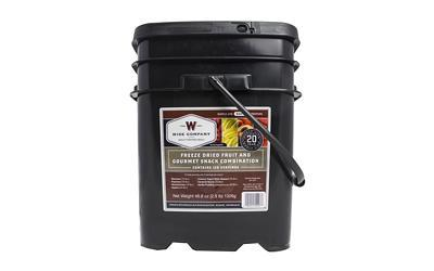 Wise Company 25 Year Shelf Life 120 Serving Bucket Grab & Go FRUIT & SNACK 40-50120 Long Term Food