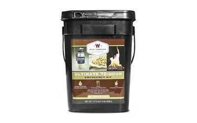Wise Company 72 Servings Bucket Grab & Go 72HR ULTIMATE KIT 05-715 Long Term Food