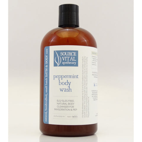 Source Vital Peppermint Body Wash