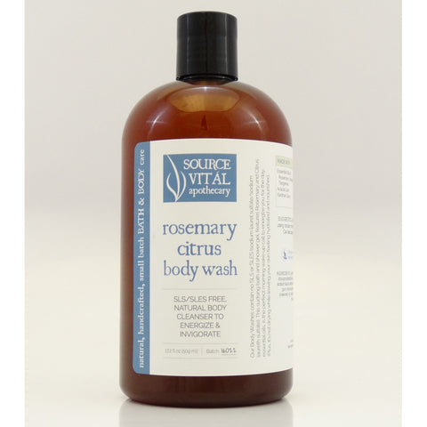 Source Vital Rosemary Citrus Body Wash