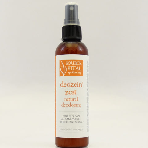 Deozein® Zest Natural Deodorant Spray