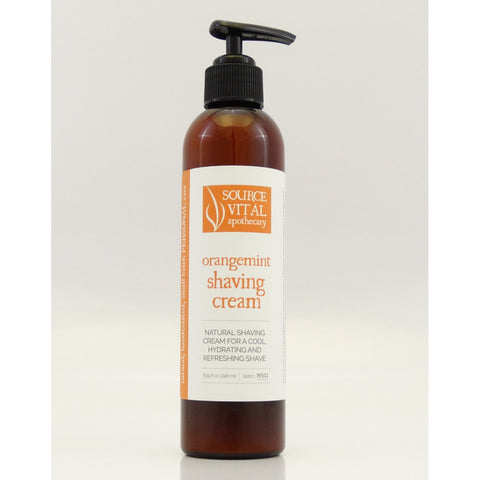 Source Vital Orangemint Natural Shaving Cream