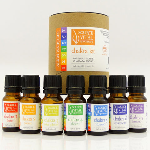 Source Vital Chakra Essential Oil Kit