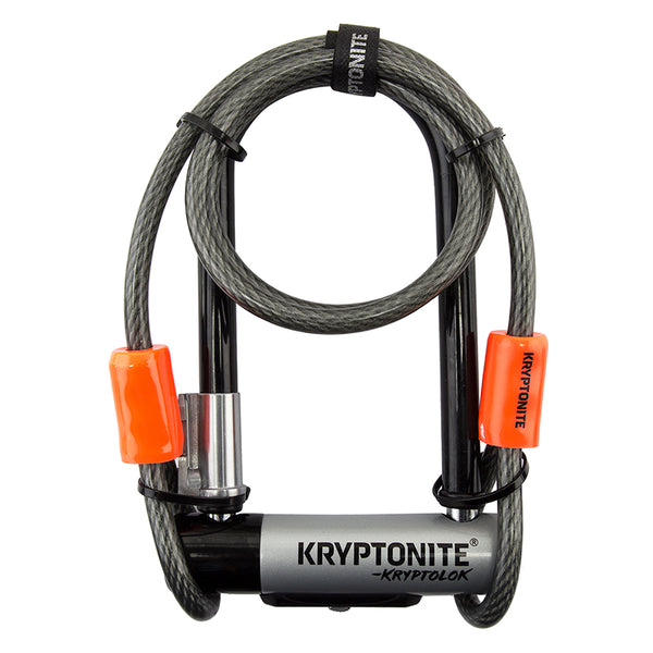 "Kryptonite Kryptolok Mini 7 3.25x7 w/ 4"" Cable"